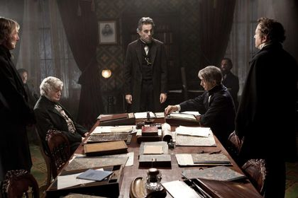 "Abraham Lincoln en una escena de la película ""Lincoln.""(AP Photo/DreamWorks, Twentieth Century Fox, David James)"