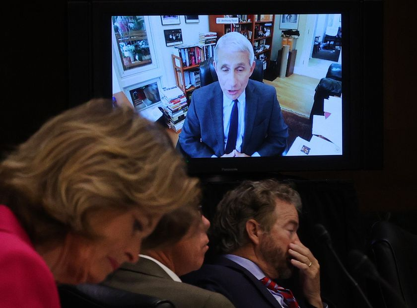 Senate Committee Hears Testimony In Virtual Hearing From Nation's Leading Disease Experts On Covid-19