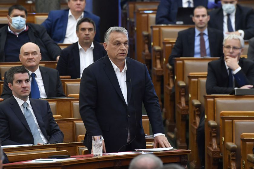 Hungarian Parliamentary vote on a state of emergency