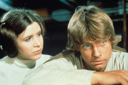 Carrie Fisher y Mark Hamill