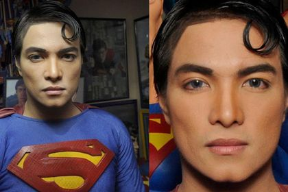 El filipino Herbert Chavez se autodenomina el «mayor fan del mundo» de Superman.