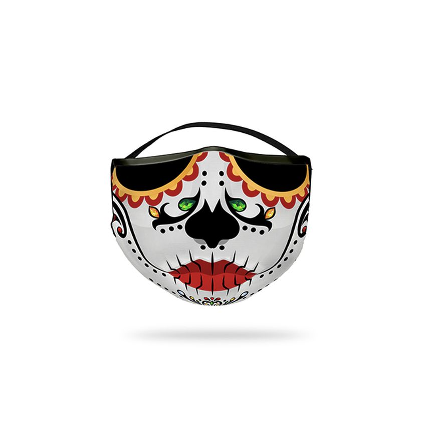 Mascarilla de catrina mexicana de Flying Tiger.