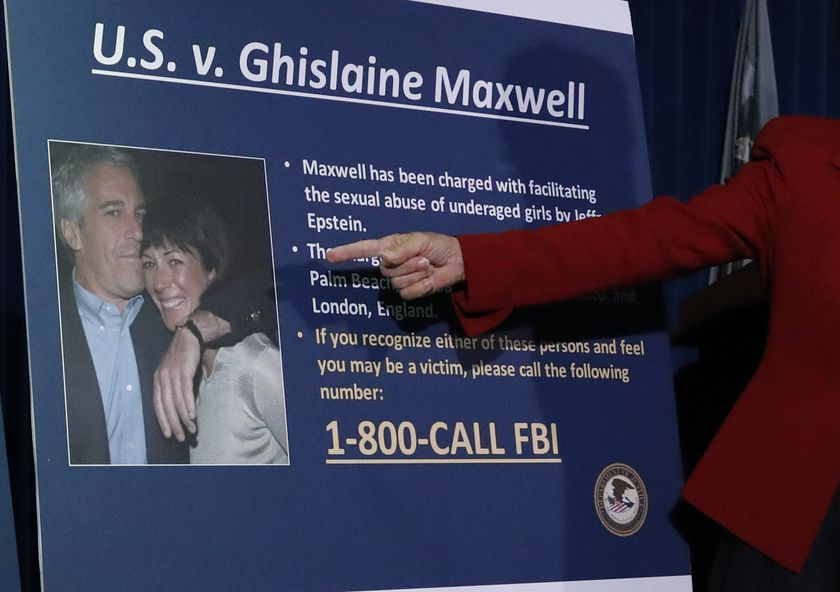 Acting United States Attorney for the Southern District of New York Audrey Strauss on Epstein associate Ghislaine Maxwell