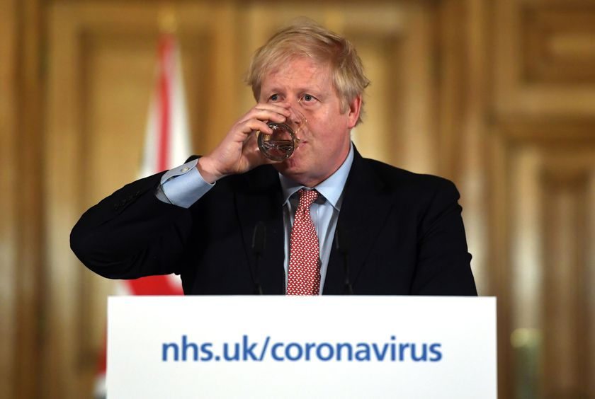 Prime Minister Boris Johnson press conference on Coronavirus in Britain