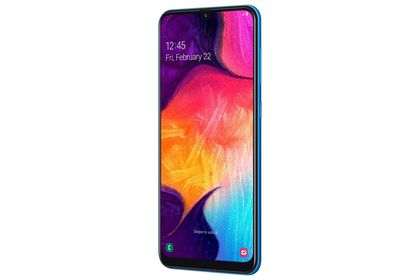 Galaxy A 50 en color azul