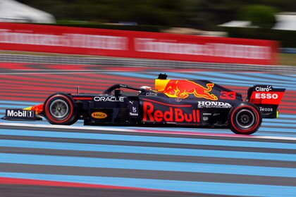 Formula One F1 - French Grand Prix - Circuit Paul Ricard, Le Castellet, France - June 18, 2021 Red Bull's Max Verstappen during practice REUTERS/Eric Gaillard