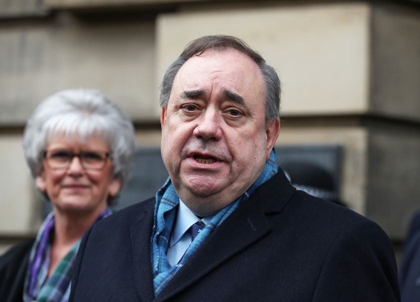 Former Scottish first minister Salmond court case in Edinburgh