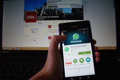 Analizan el uso de Facebook y WhatsApp con fines académicos