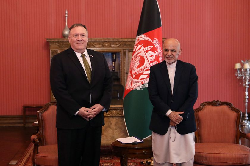 US Secretary of State Mike Pompeo visits Afghanistan