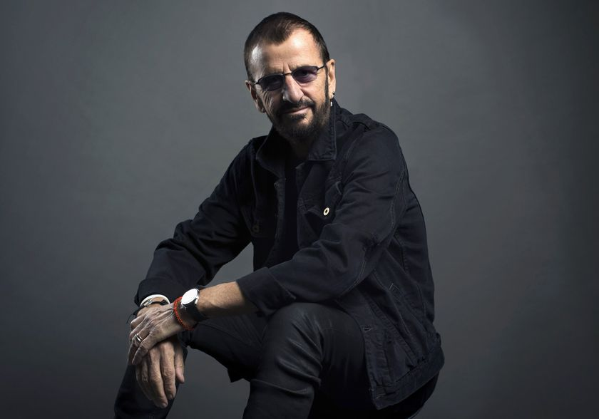 Ringo Starr poses for a portrait in New York. Starr turns 80 on July 7.