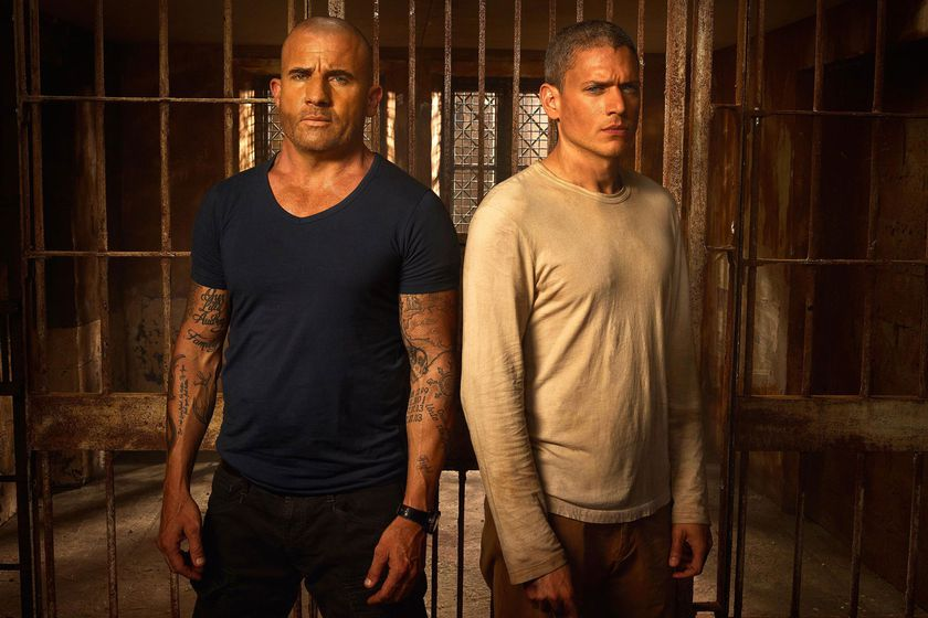 Dominic Purcell y  Wentworth Mille