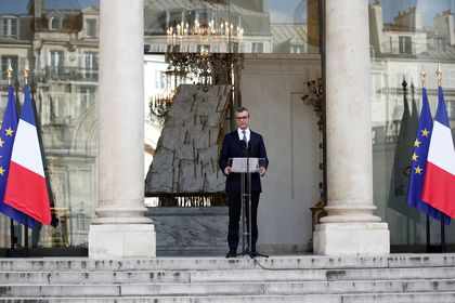 Announcement of the new French government at the Elysee Palace in Paris