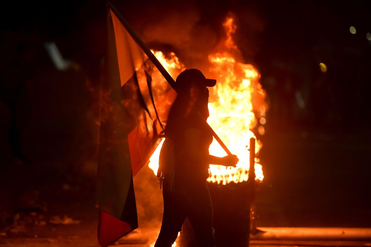 The horror of the nights in Cali during the protests