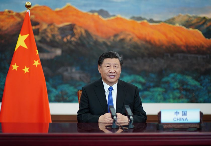 Xi Jinping   23/09/2020 ONLY FOR USE IN SPAIN