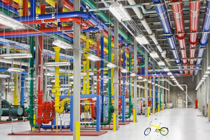 El centro de Big Data de Google