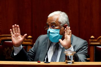 FILE PHOTO: Portugal?s Prime Minister Antonio Costa attends a biweekly debate at the parliament, amid the coronavirus disease (COVID-19) outbreak, in Lisbon