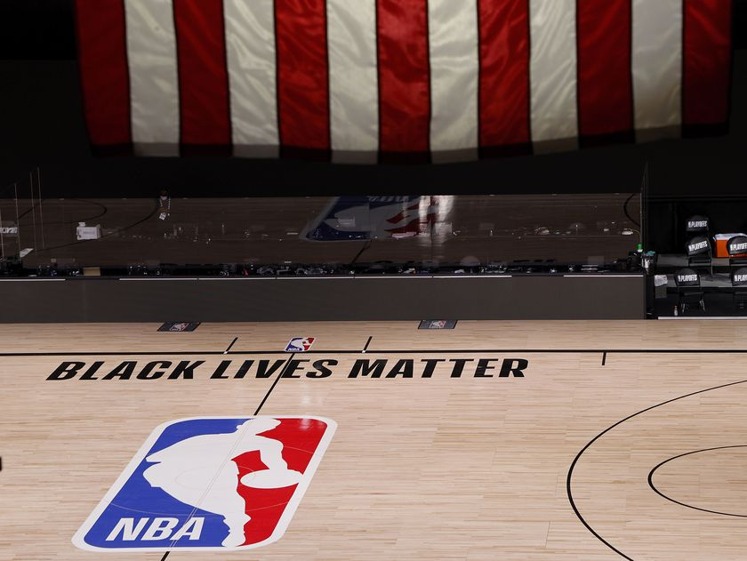 Milwaukee Bucks protest police shooting of Jacob Blake