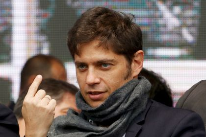FILE PHOTO: File photo: Buenos Aires province governor, Axel Kicillof is seen at an event in Buenos Aires, Argentina, Sept, 9, 2015.