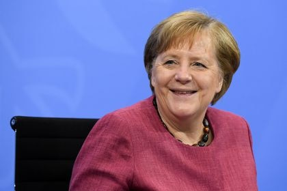 La canciller alemana, Angela Merkel Annegret Hilse/Reuters/Pool/dpa 02/06/2021 ONLY FOR USE IN SPAIN