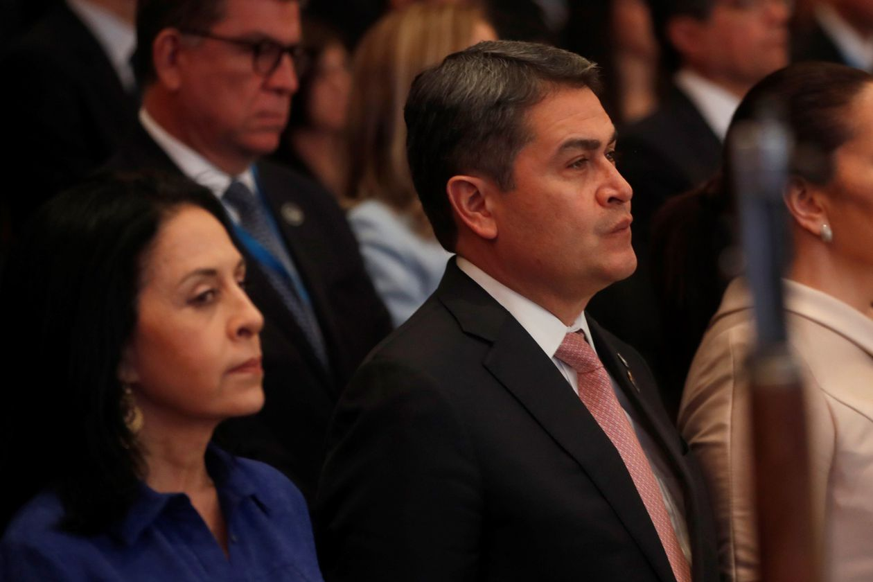 Honduran President's Sister charged with Corruption