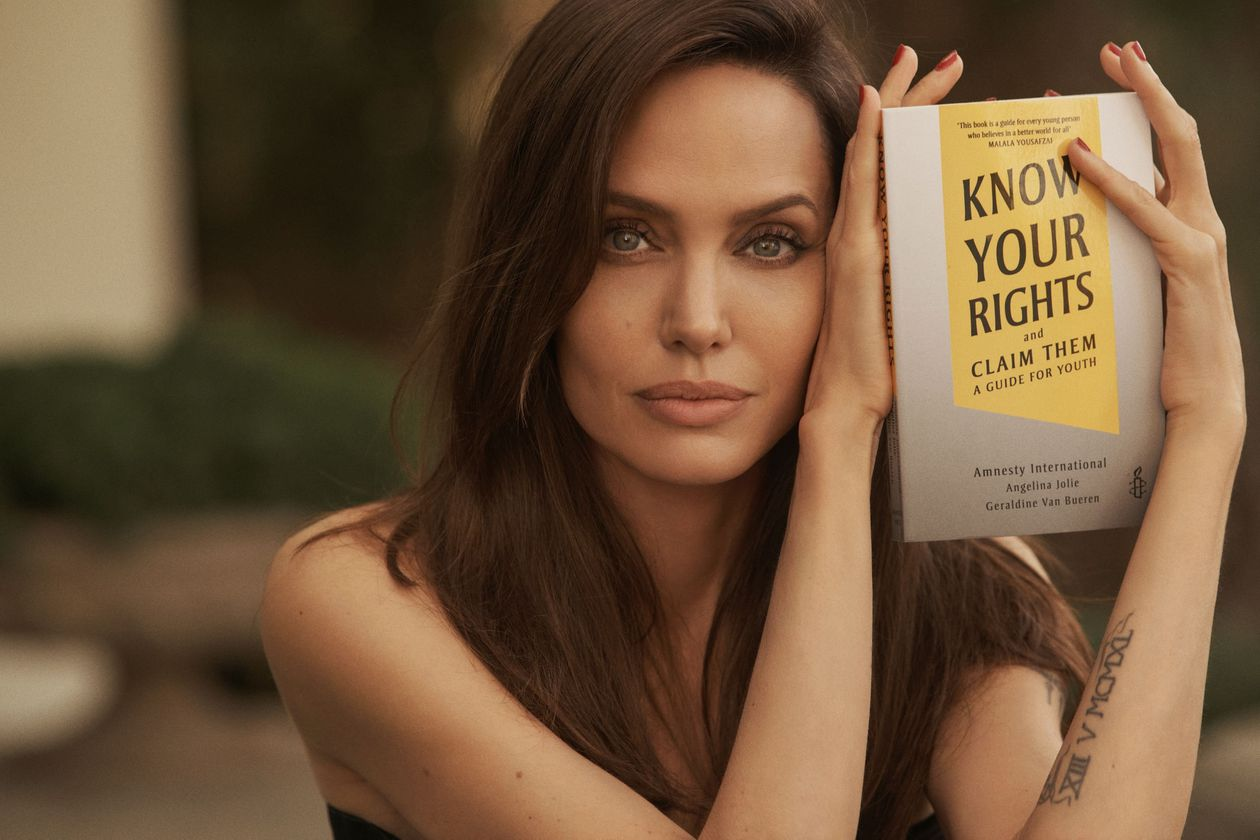 """Angelina Jolie confesses that she feared for the safety of """"my whole family"""" during her marriage to Brad Pitt"""