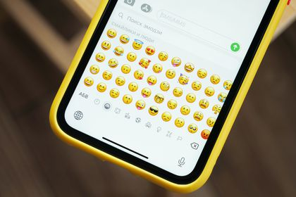 Emojis en un iPhone