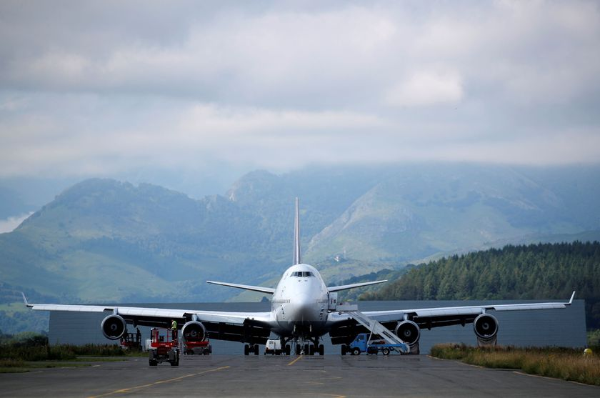 Grounded jetliners stored at Tarmac Aerosave in Tarbes