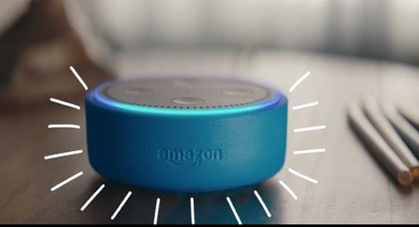 El Echo Dot de Amazon
