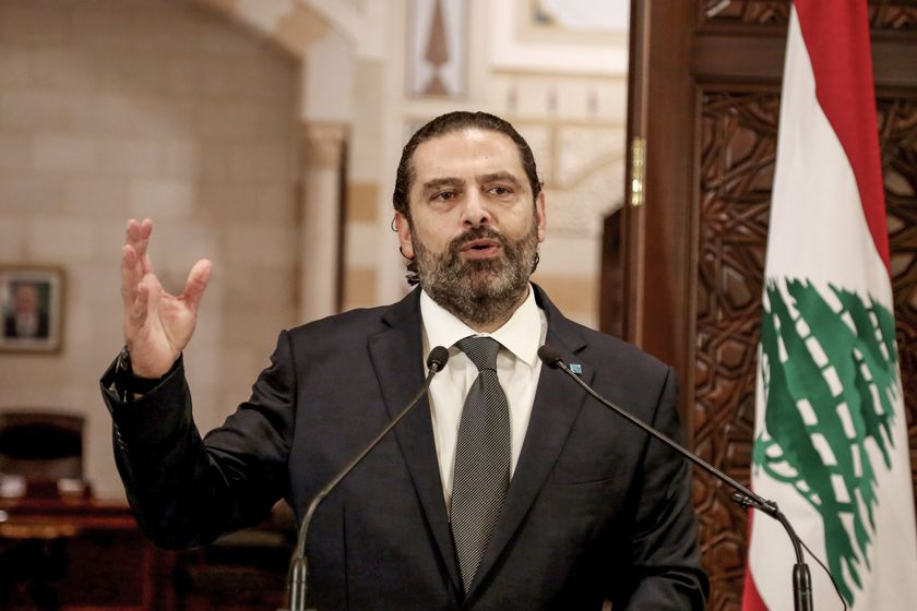 Hariri urges protesters to maintain peaceful demonstrations