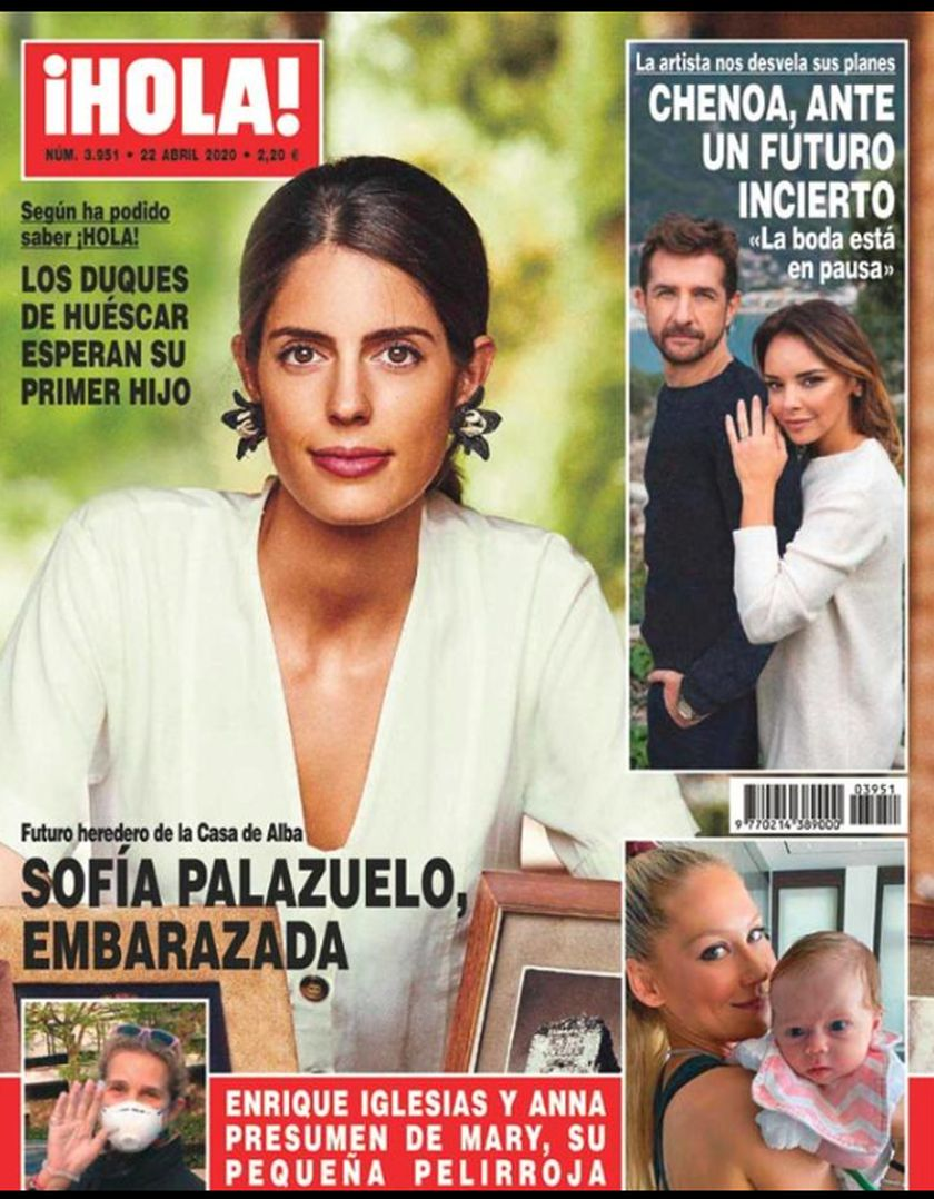 Portada revista ¡Hola! 15 abril