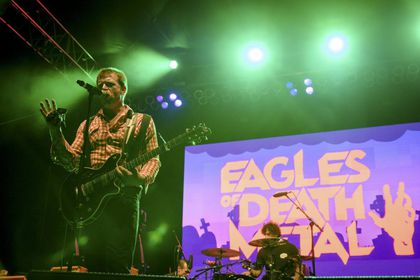Jesse Hughes, componente de la banda  Eagles of Death Metal