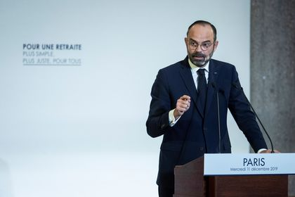 French government unveils details of a pension reform plan