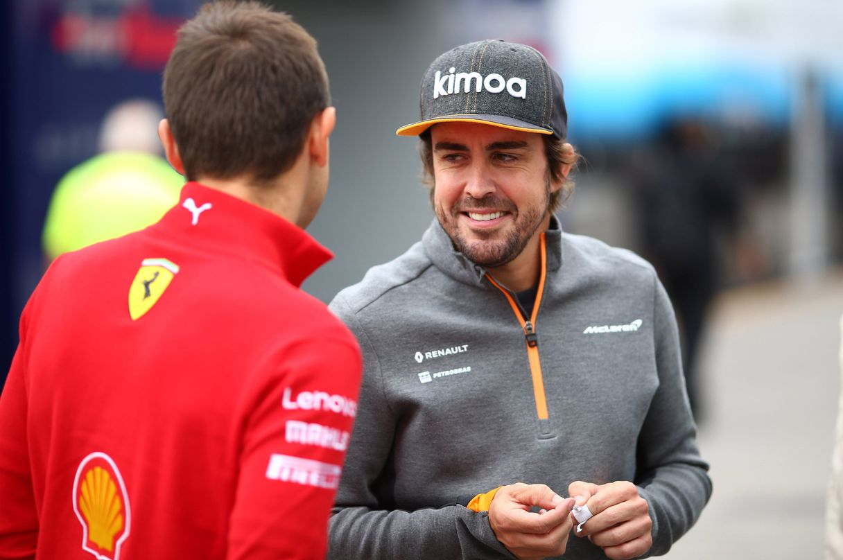 Another nod from Fernando Alonso to Ferrari for Formula 1?