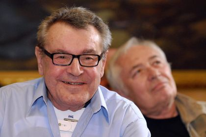 El cineasta y director checo, Milos Forman