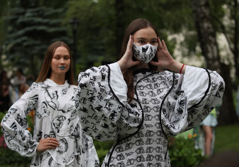 Runway - Historia Naturalis - Ethical Fashion Show #3 - 2020 in Minsk