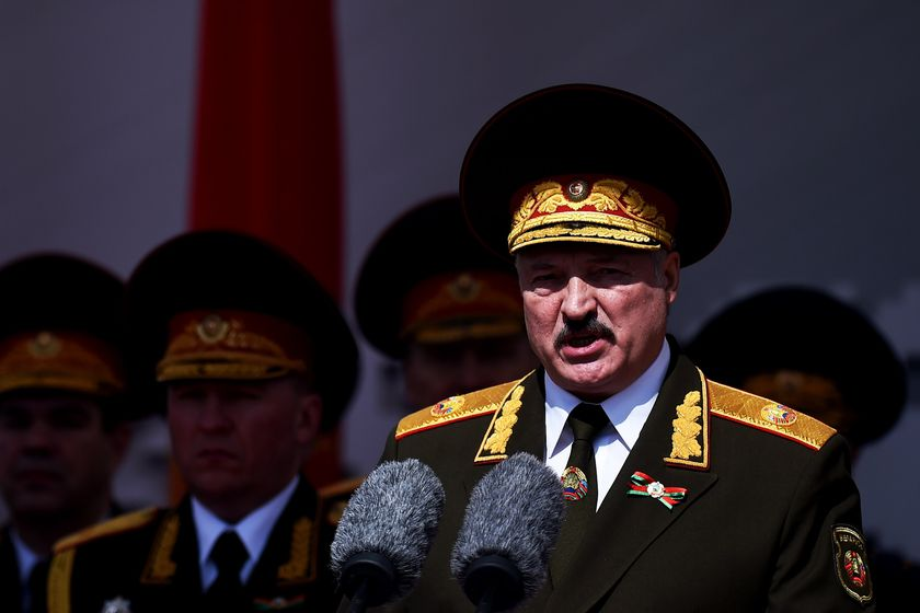Belarus celebrates the 75th anniversary of the Soviet Union's victory over Nazi Germany in the World War II