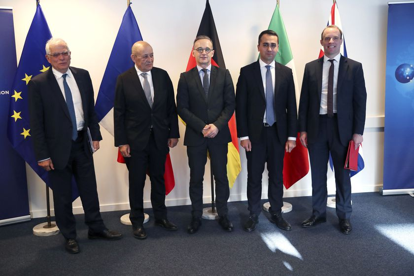 Foreign Minister meeting on Lybia and Iran