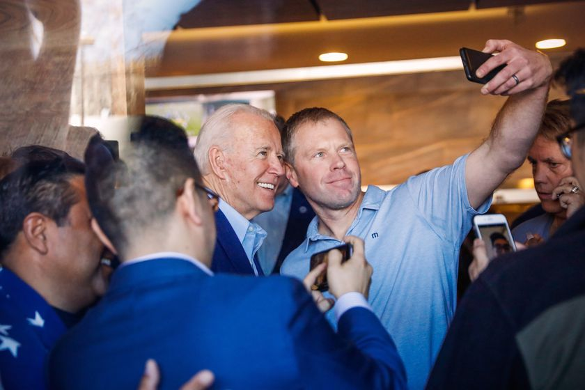 Biden campaigns in Oakland on Super Tuesday
