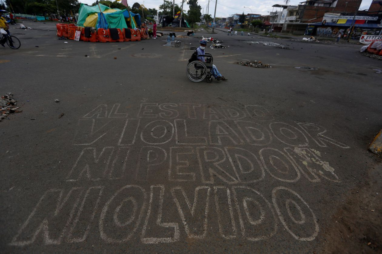 Two protesters shot dead in a blockade in Colombia