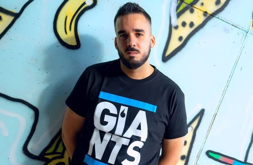 Caiper, jugador de Giants Gaming participante en la Ultimate Fighting League