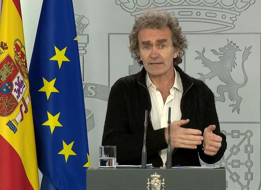 Coronavirus Evaluation and Follow-up Committee press conference in Spain
