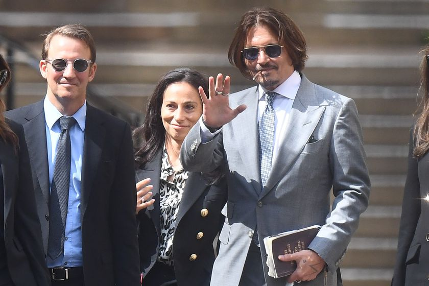 US actor Johnny Depp court case in London
