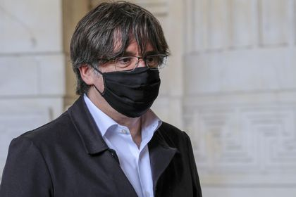 Catalan leader at court house