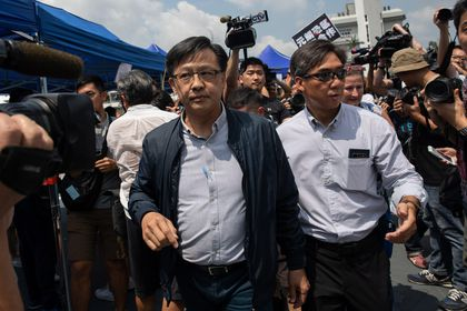 Pro-Beijing lawmaker wounded in knife attack in Hong Kong