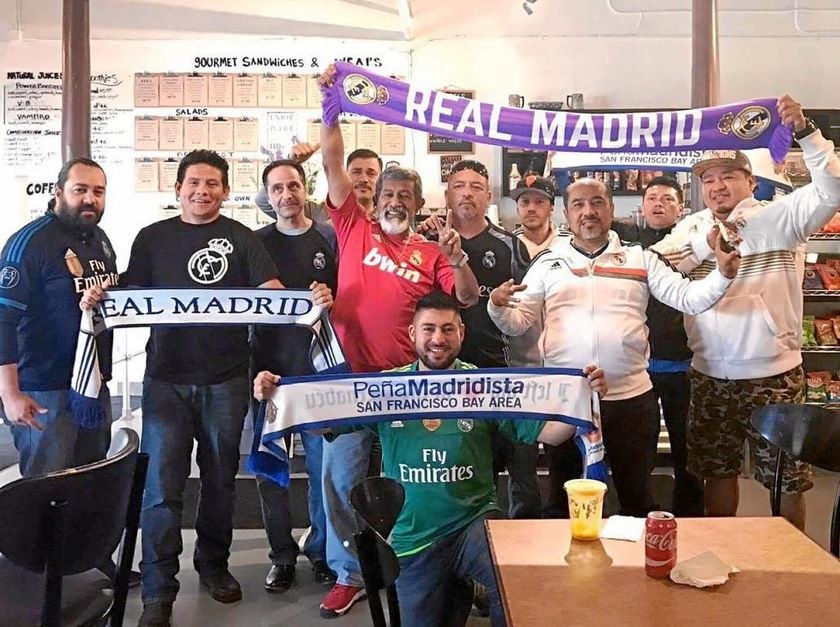 Peña madridista «San Francisco Bay Area»