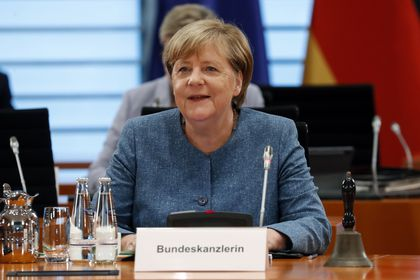 German government cabinet meeting at the chancellery in Berlin