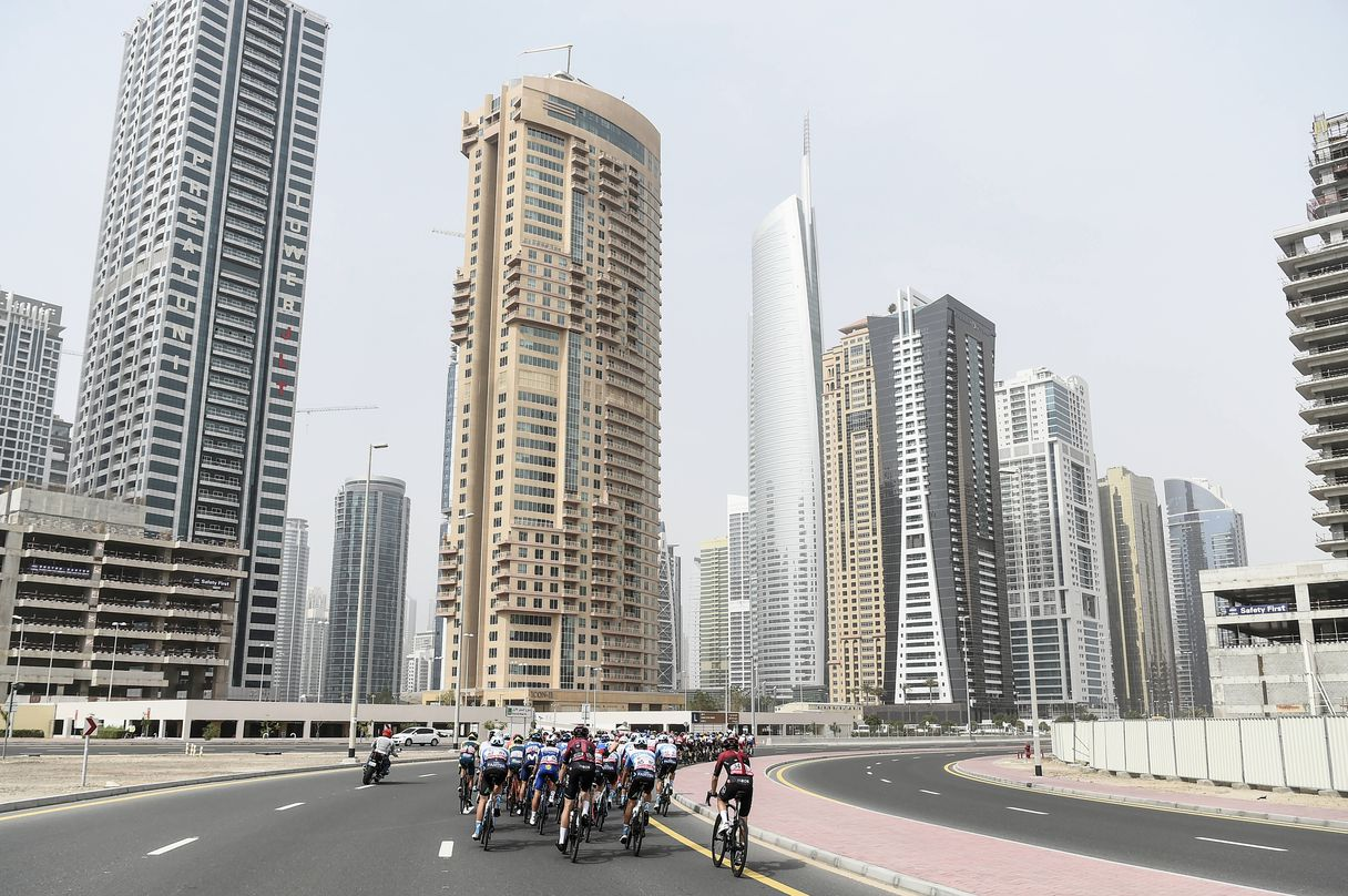 Coronavirus The Emirates Tour is suspended