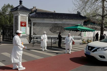 China mourns for coronavirus (COVID-19) victims on Qingming tomb sweeping festival