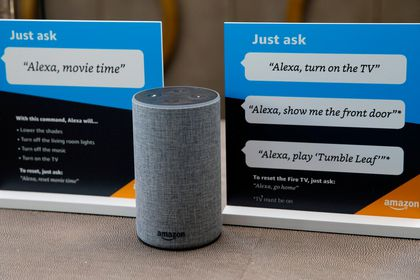 El dispositivo Amazon Alexa