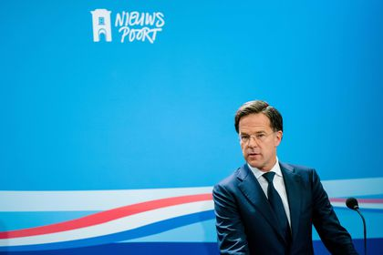 Dutch Prime Minister Mark Rutte press conference